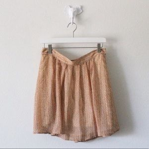 💕Old Navy Layered Flare Stretch Skirt L527